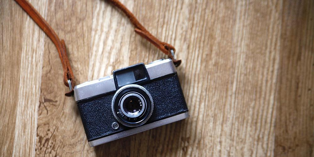 昔ながらのカメラ