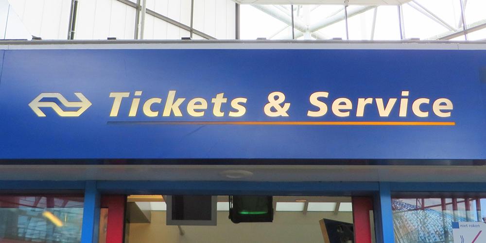 チケットカウンターのイメージ写真